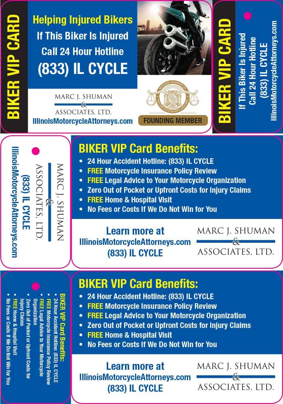 Biker VIP Card