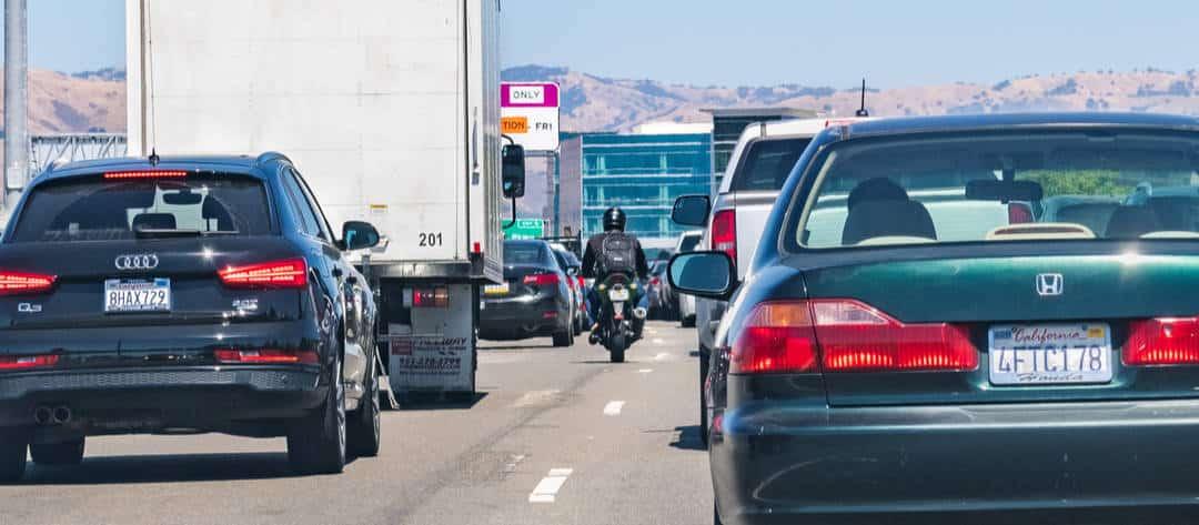 motorcycle lane splitting laws